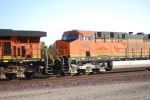 BNSF 7802 rolls westbound as a #3 unit towards Cajon Summit, CA.